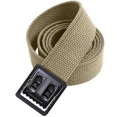 Belt Web Military Khaki USMC Marine Corps Army Style Jeans Golf Tennis Vet w P38