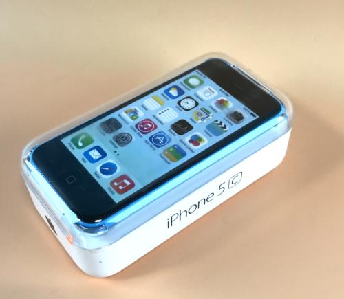 Apple iPhone 5c Verizon A1532 16GB BLUE  (GSM unlocked ) Sealed Demo! Read #2233