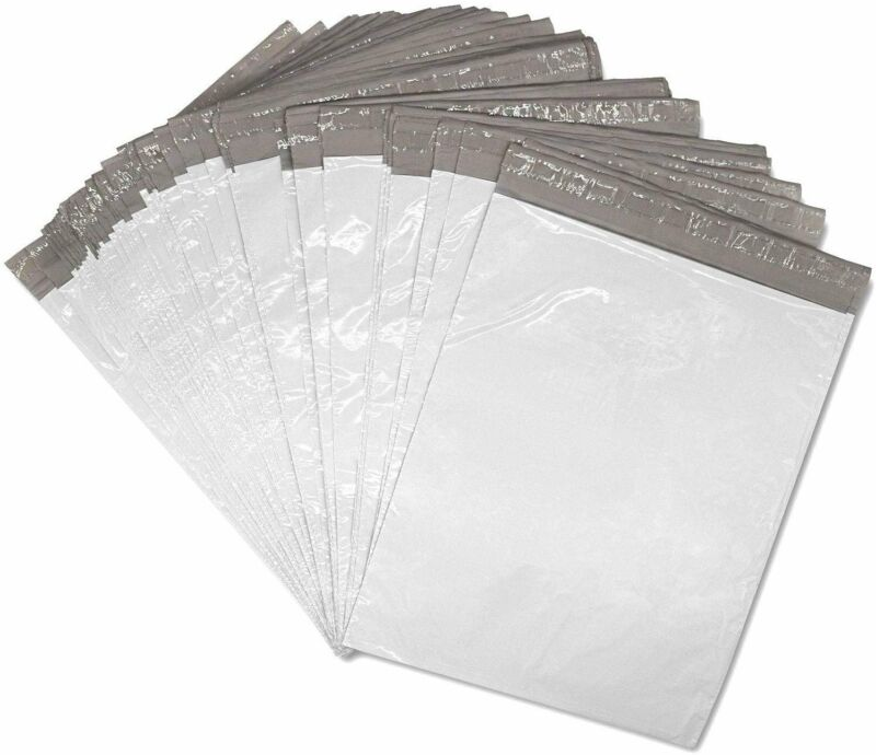 10x13 Poly Mailer Envelopes 100 Self Sealing Shipping Bags 12x15 inches