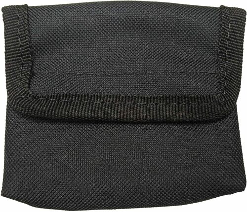 Glove Pouch EMS - EMT Paramedic Holds 6 Pairs of Gloves - Black