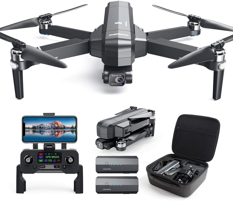 RC FPV GPS Drohne mit 4K HD Kamera Bürstenlos Faltbar EIS Quadrocopter Drone