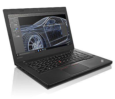 """Lenovo ThinkPad T460 Intel i7-6600U 8GB 256GB SSD 14"""" FHD Win10Pro Warranty"""