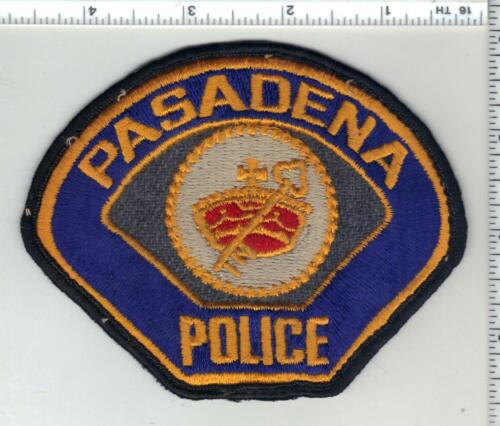 Pasadena Police (California) 1st Issue Uniform Take-Off Shoulder Patch