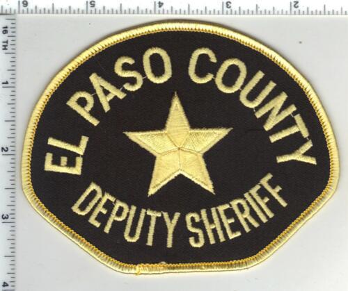 El Paso County Sheriff (Colorado) 2nd Issue Deputy Shoulder Patch