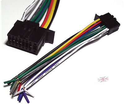 Car Stereo Wire (Pioneer 2350 Car Radio Stereo Wire Harness 16 pin Plug - UK seller)