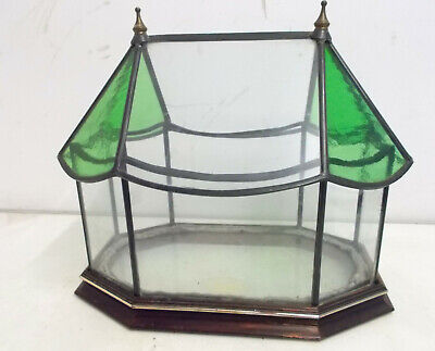 Hand Crafted Glass-Style Creations Glass Terrarium