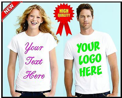 Personalized Custom T Shirt - with Photo & Text and/or Logo make your own design - Make Your Own T Shirts