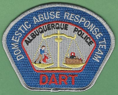 ALBUQUERQUE NEW MEXICO POLICE DART DOMESTIC ABUSE RESPONSE TEAM PATCH