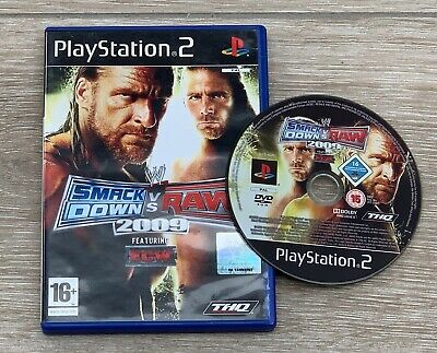 Wwe Smackdown Vs Raw 2009 (PS2) for sale  Shipping to Nigeria