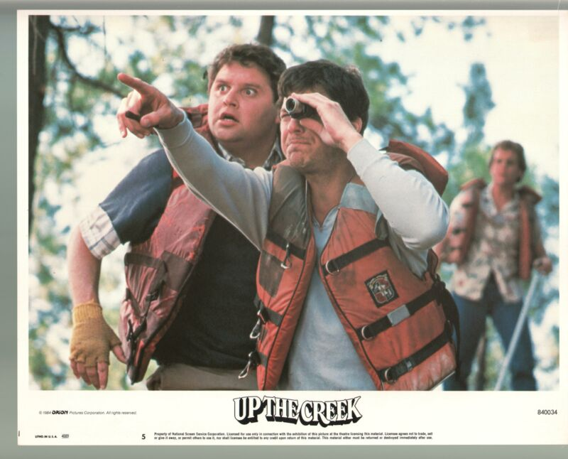 Up The Creek-Tim Matheson-Stephen Furst-Color-Lobby Card-11x14-FN