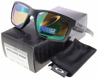 Oakley Mainlink Sunglasses OO9264-20 Steel | Prizm Shallow Water Polarized |BNIB