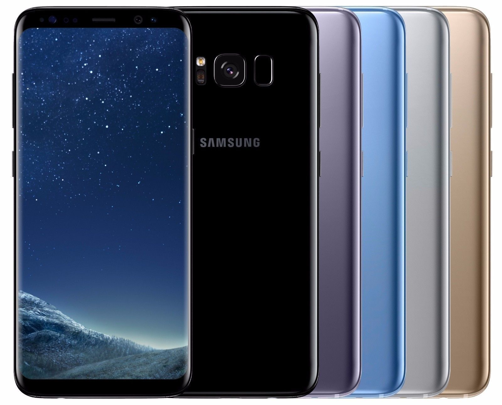 Samsung Galaxy S8 SM-G950FD Dual SIM FACTORY UNLOCKED Black Gold Gray