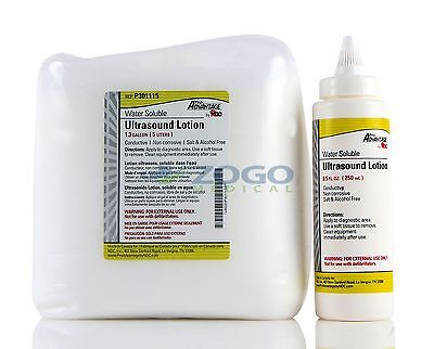 Pro Advantage P301115 Ultrasound Lotion 5 Liter Container With One Empty Bottle
