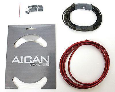 AICAN Superlight Bungarus BRAKE Cable Housing set kit Nokon I-Link  mix colour