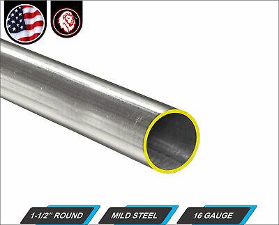 1-12 Round Tube - Mild Steel - 16 Gauge - Erw - 60 Inch Long 5-ft