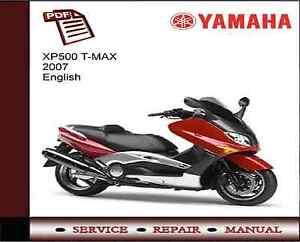 yamaha xp500 t max 2007 service repair workshop manual. Black Bedroom Furniture Sets. Home Design Ideas