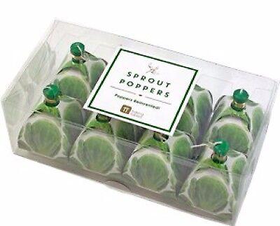 rty Papier Geschirr Sprout Neuheit Gemüse Party Druckknöpfe (Papier Geschirr Weihnachten)