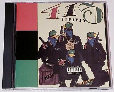 415 - 41Fivin - [CD] Richie Rich D-Loc DJ Daryl RARE Oakland Gangsta Rap Hip-Hop