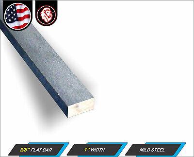 38 X 1 Steel Flat Bar - Metal Stock - Plain Finish - 12 Long 1-ft