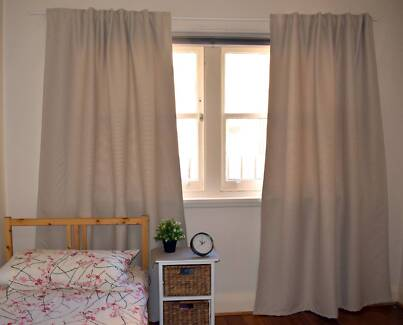 IKEA Vilborg block out curtains - Beige colour (Great condition)