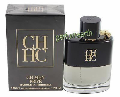 Ch Prive Men By Carolina Herrera 1 7 1 6 Oz  Edt Spray For Men New In Box