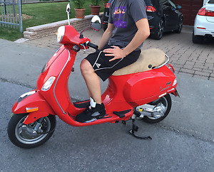 Vespa LX50 ONLY 475 KMS!!! MINT CONDITION!!