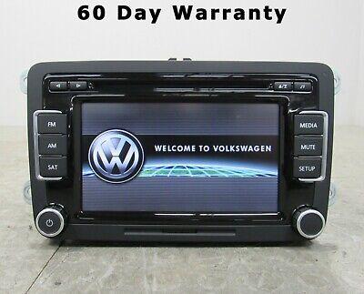 06-15 Volkswagen RCD510 Touch Screen Satellite Radio Receiver Head Unit 8083