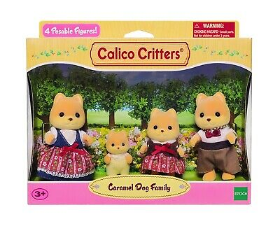 Sylvanian Families Calico Critters Red Panda Baby and Lakeside Lodge Set