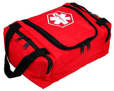 Dixie Ems First Responder Emt Jump Trauma Bag - Red 10.5x 5 X 8