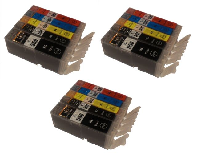 15xL ink cartridges for Canon choose colour iP8750 MX925 MG5550 C-550 C-551