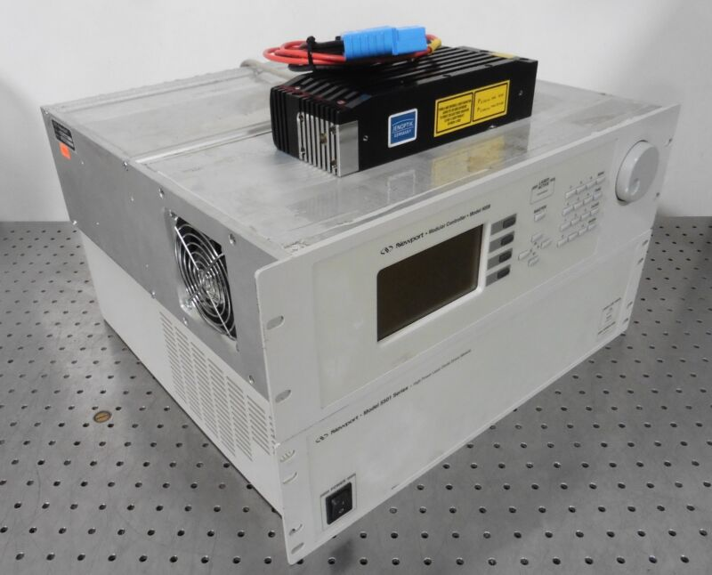 G177035 Jenoptik JensLas. D2.8 Laser Head w/ Newport 9008 Control & 5501 PS
