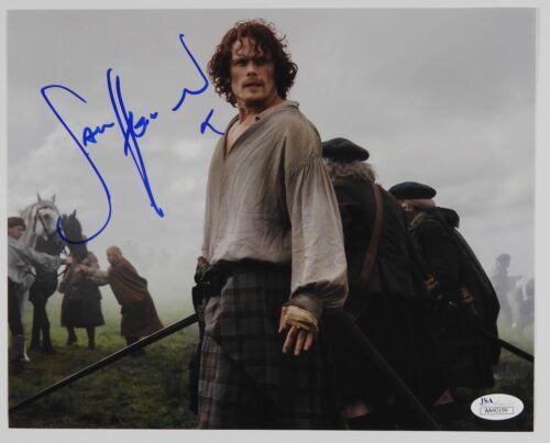 Sam Heughan Outlander JSA signed autograph 8 x 10 Photo