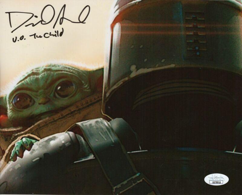 David Acord Autograph 8x10 Photo The Mandalorian The Child Signed JSA COA