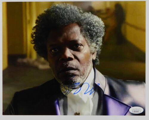 Samuel L Jackson ICE JSA JSA Autograph Signed Photo 8 x 10