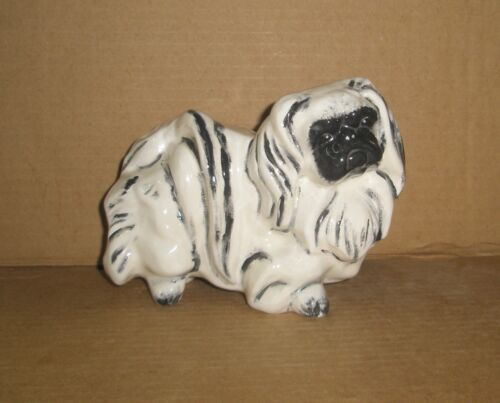 Dog Figurine/ Pekingese