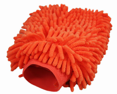 Clearance - ABN Car Wash Chenille Microfiber Mitt 1-Pack – Reusable Cleaning Mit