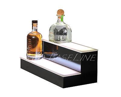 18 Led Bar Shelf Two Step Liquor Bottle Shelves Bottle Display Shelving Rack