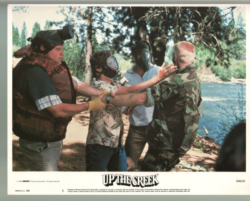 Up The Creek-Tim Matheson-Dan Monahan-Color-Lobby Card-11x14-FN