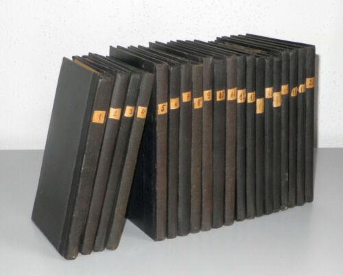 Kleine private Wissensbibliothek, ca. 1920 – 20 Bände