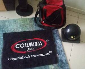 Columbia 300 Bowling ball with matching bag and towel Bellbird Park Ipswich City Preview