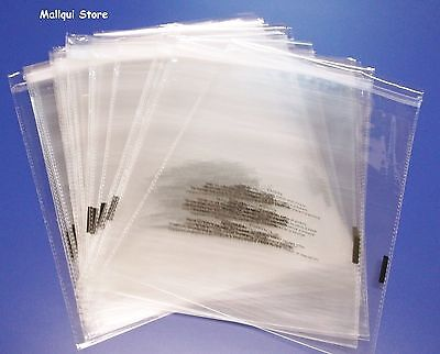 100 Suffocation Warning 9 X 12 Resealable Cello Poly Bags 1.5 Mil Opp Bags