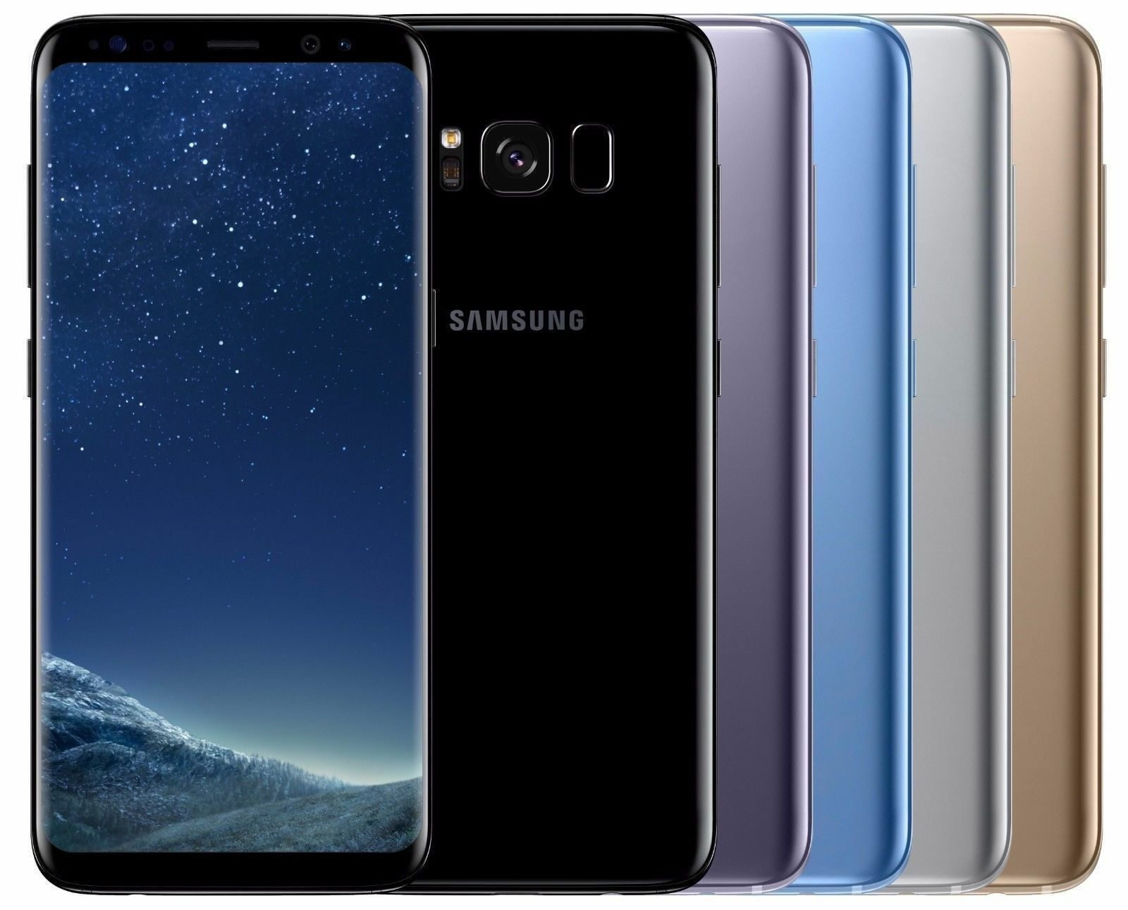 New Samsung Galaxy S8 SM-G950U 64GB Unlocked AT&T T-Mobile MetroPCs Smartphone