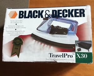 Black & Decker Travel Pro Iron X30