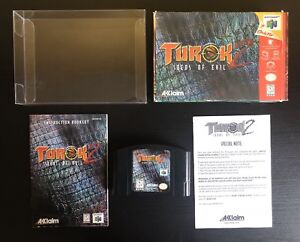 Turok 2 : Seeds of Evil CIB (Nintendo 64)
