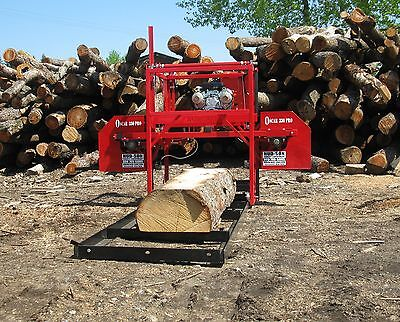 Hud-Son Forest Equipment Oscar 236 Portable Sawmill Bandmill Cabin Kit Saw Mill