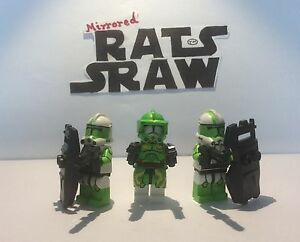 Lego Star Wars minifigures - Clone Custom Troopers - Commander Doom set