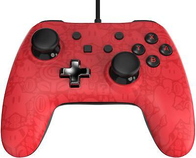Controller Retail Box (Nintendo Switch PowerA Super Mario Edition Wired Controller Red - In Retail Box)