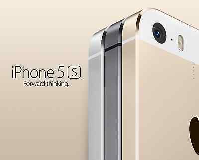 Apple iPhone 5S 16GB Factory Unlocked GSM - Gray - Gold - Silver 4G Smartphone