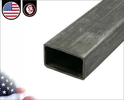 1 X 1-12 - Rectangular Tube - Mild Steel - 11 Gauge - 48 Inches Long 4-ft
