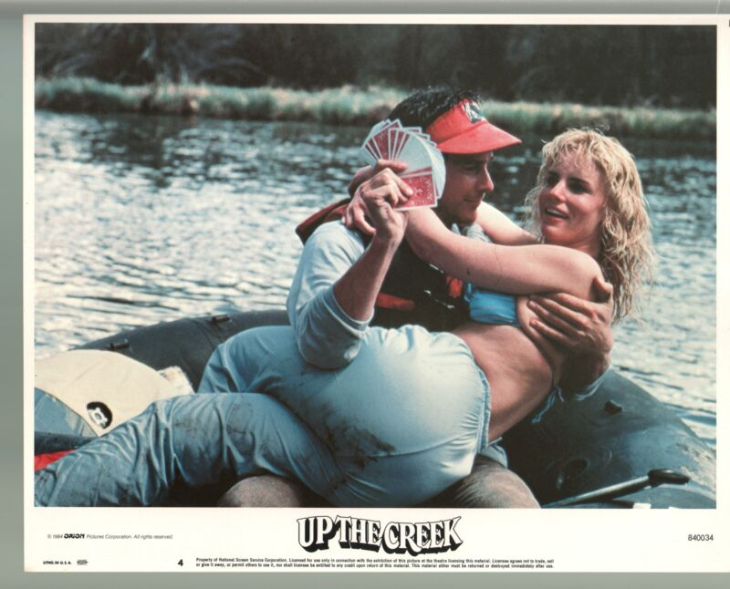 Up The Creek-Tim Matheson-Jennifer Runyon-Color-Lobby Card-11x14-FN